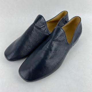 Lemaire NEW Navy Flats