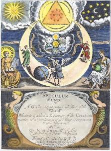 From John Swan Speculum Mundi Cambridge 1644, Alchemical And Hermetic Emblems 2