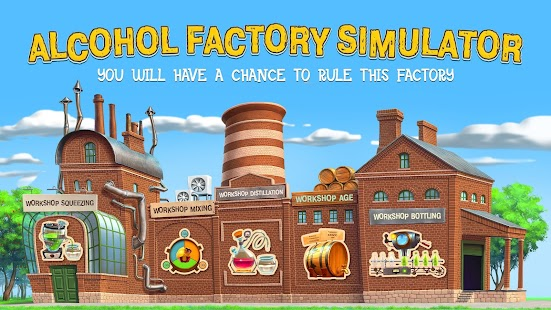 Alcohol Factory Simulator- screenshot thumbnail