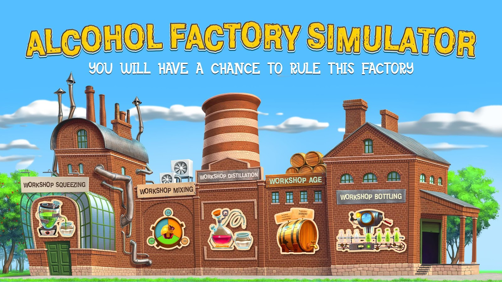 Alcohol Factory Simulator- screenshot