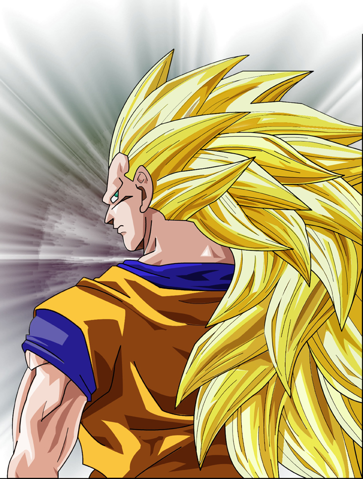 dragon ball z cool pics goku super saiyan 3