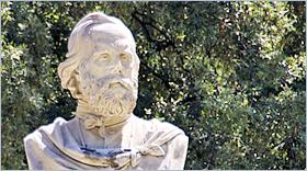 Sizilien - Palermo - Büste von Giuseppe Garibaldi.
