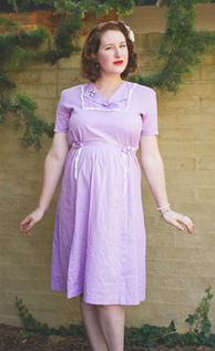 A Decade of Style Challenge - 2014 Vintage Fashion | Lavender & Twill