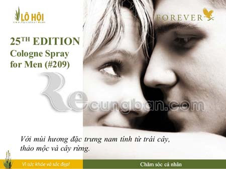 Nước hoa cho nam 25TH Edition® Cologne Spray for Men 209