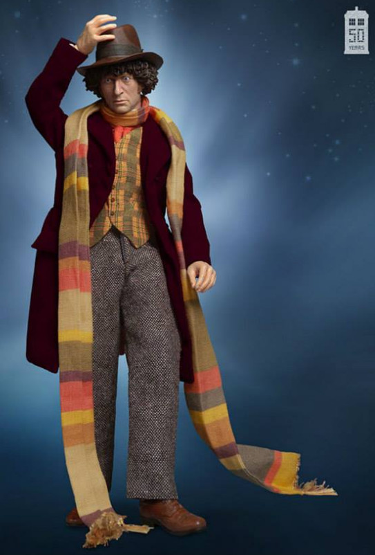 4th Doctor figurine  sc 1 st  Taneya u0026 Kalonji : dr who 4th doctor costume  - Germanpascual.Com