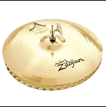 "13"" Zildjian A Custom - Mastersound Hi-hat"