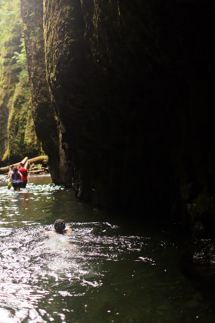The Oneonta Gorge Portland | Places to Hike in Oregon.
