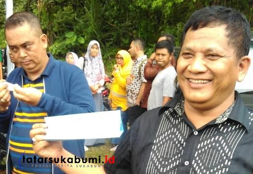 Kepala Bappeda (Badan Perencanaan Pembangunan Daerah) Kabupaten Sukabumi Maman Abdurahman
