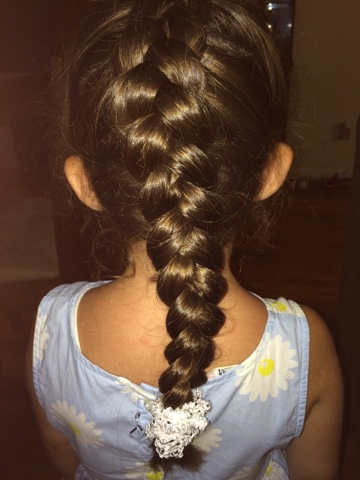 Hairspiration- Inside Out Braid