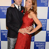 WWW.ENTSIMAGES.COM -   Roger Mele and Heather Kerzner   at   Terrence Higgins Trust's 'The Supper Club' after-party at Underglobe, Bankside London October 8th 2014This year's Supper Club in aid of  HIV and sexual health charity Terrence Higgins Trust. The Supper Club' is an annual foodie event where celebrities and Terrence Higgins Trust supporters invite their friends to dine with them at 50 of London's most iconic restaurants. On the night guests will be treated to an exquisite dinner, before being whisked away to a star-studded after-party, featuring cocktails, superb entertainment by British singer- song writer Chloe Howl, and dancing at the Underglobe.                                                Photo Mobis Photos/OIC 0203 174 1069