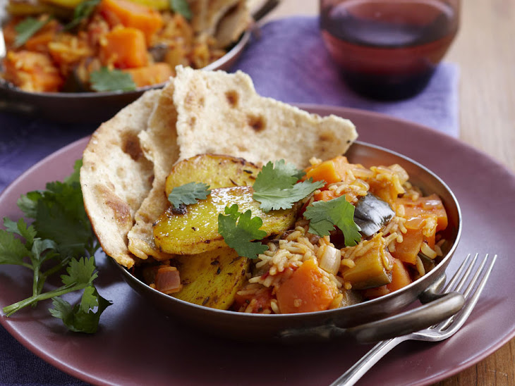 Vegetable Curry with Spiced Potatoes Recipe
