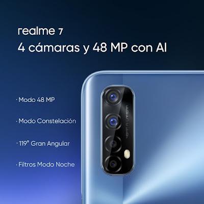 كاميرات هاتف ريلمي 7 realme 7
