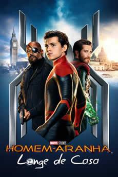 capa Homem-Aranha: Longe de Casa