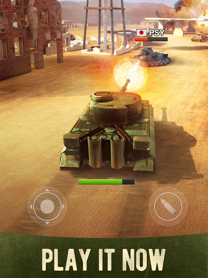 War Machines Tank Shooter Game- screenshot