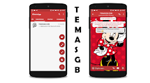 BAIXAR TEMAS GBWHATSAPP - MINNIE CUTE RED