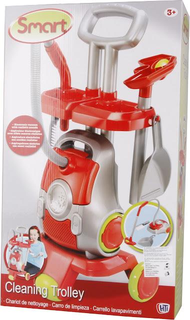 Dụng cụ làm vệ sinh Smart Cleaning Trolley cho bé tập làm người lớn