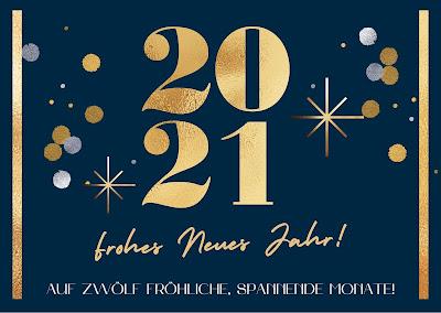2021 Prost Neujahr
