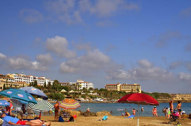 кипр, пляж, пляж кораллия, пейя, пафос