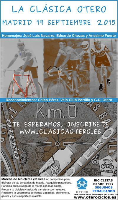 La Clásica Otero, el sábado 19 de septiembre de 2015