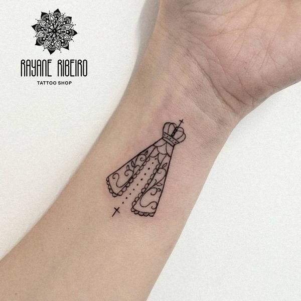 este_encantador_santa_tatuagem
