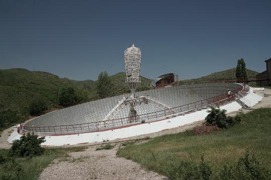 Das Radio-Optical Telescope (ROT-54) bei Orgov