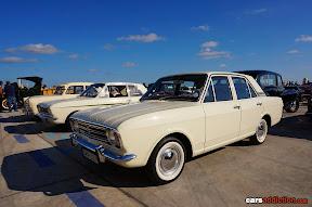 White Ford Cortina