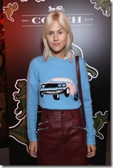 attends Coach House Regent Street Launch Party on November 24, 2016 in London, England.