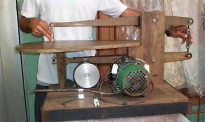 Serra Tico tico de Bancada Caseira