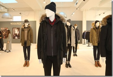 12 - WOOLRICH MENS FW17 COLLECTION SET UP