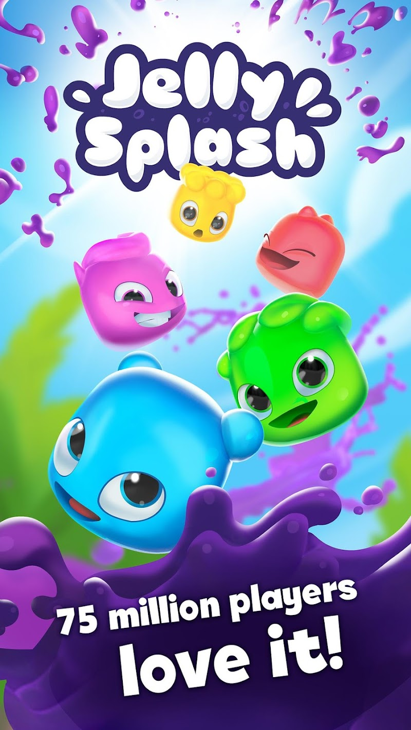 Jelly Splash Match 3: Connect Three in a Row Screenshot 4