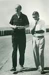 with Francis Crick. Picnic at Osman Sagar, Hyd. 1964.jpg