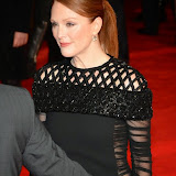 WWW.ENTSIMAGES.COM -        Julianne Moore   at      The Hunger Games - Mockingjay - part 1 - UK film premiere at Odeon Leicester Square, London November 10th 2014Premiere of latest film in the Hunger Games franchise, which this time sees Katniss lead a rebellion against the tyrannical and corrupt Capitol.                                              Photo Mobis Photos/OIC 0203 174 1069