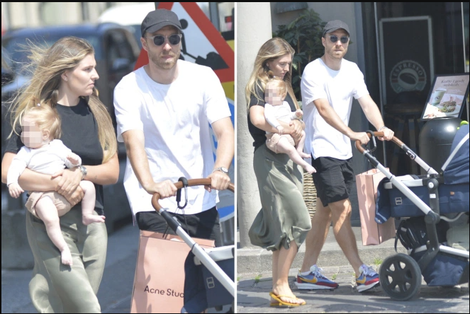 Christian Eriksen spotted out with his family after hospital release following cardiac arrest at EURO 2020 (photos)