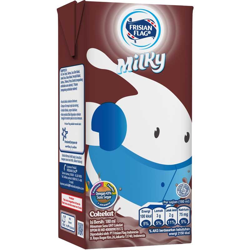 2. Susu UHT anak Frisian Flag Milky