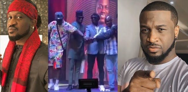 Rudeboy And Peter Okoye Called Out After 2Face, Blackface And Faze Settled Their Differences  [Video]