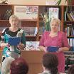 Ведущие  поэтического фестиваля  ветеранов - пенсионеров  Пока живем - мы помнить будем! Ольга Смирнова и Елизавета Яковлева.JPG