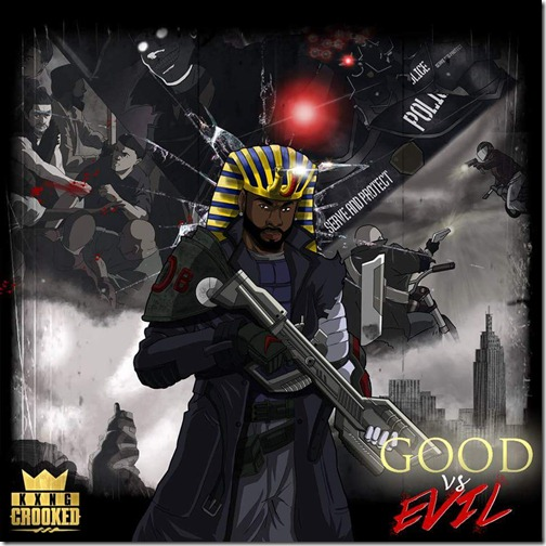KXNG Crooked Good Vs Evil Artwork