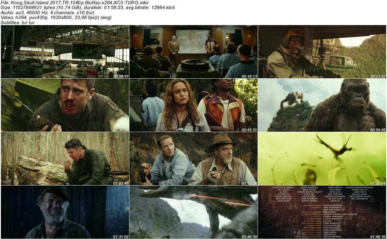 Kong Kafatası Adası 2017 - 1080p 720p 480p - Türkçe Dublaj Tek Link indir