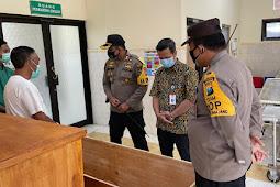 Kapolres Lumajang Lakukan Koordinasi Dengan Rumah Sakit Terkait Pemulasaraan Jenazah Pasien Covid -19