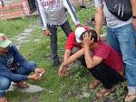 Saat Boncengan Di Sipori-Pori, David Dan Edo Ditangkap Satres Narkoba Tanjung Balai