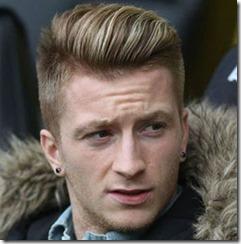 Soccer Player Haircut Marcos Reus