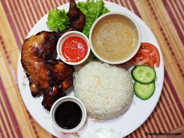 nasi ayam sheila rusly sedap azie kitchen