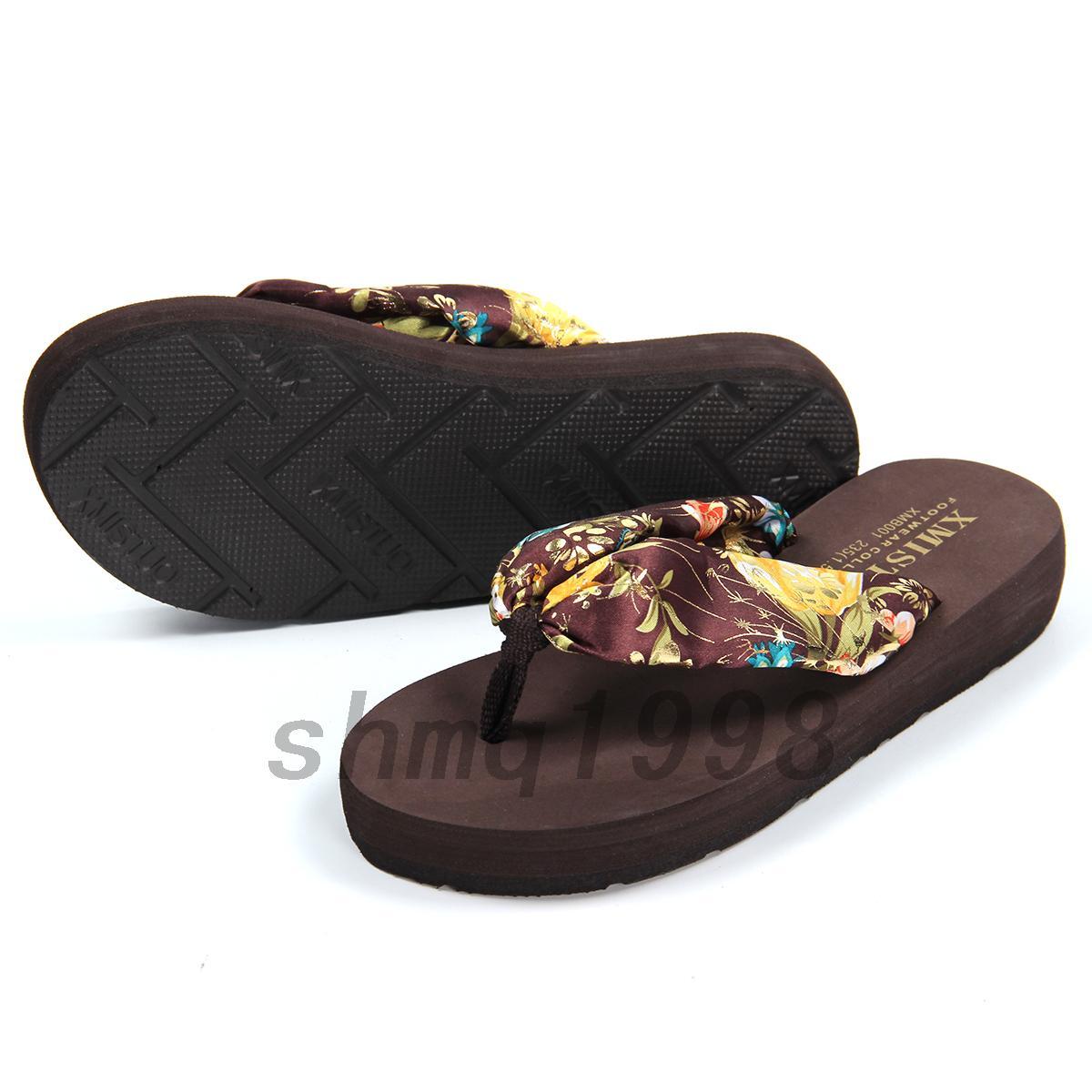 zehentrenner sandale badelatschen damen strand sommerschuhe badeschuhe sandalen ebay. Black Bedroom Furniture Sets. Home Design Ideas