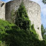 Ancien château : remparts ouest