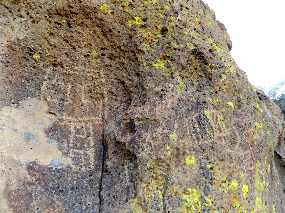 Counsel Rocks petroglyphs