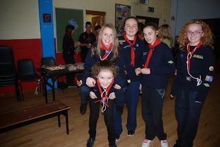 Chief Scout Award Presentation night