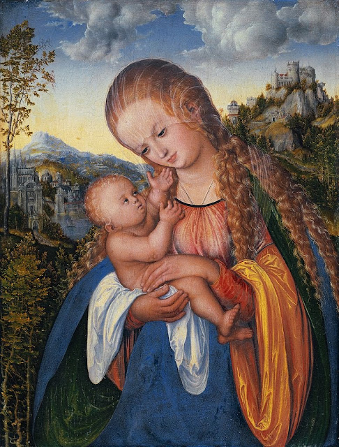 Lucas Cranach the Elder - Madonna and Child c. 1518