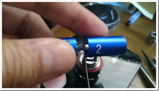 DSC 0031 thumb%25255B3%25255D - 初クラプトンコイルビルド!「Geek Vape Clapton Wire」でSubtank MiniのRBAを巻いてみた