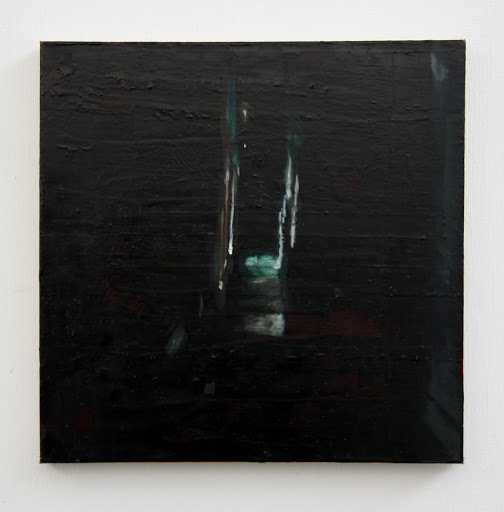 The Passage of Time 2014 Oil on rubber paint on linen. Artist Fiona Long