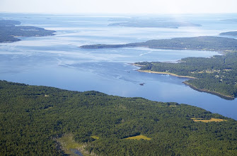 Photo: Penobscot Bay and Cape Jellison